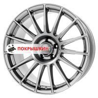 8,5*20 5*112 ET45 79 OZ Superturismo Dakar Matt Graphite + Silver Lettering
