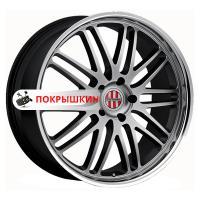 9,5*19 5*130 ET49 71 Victor Le Mans Hyper Silver Mirror Cut Lip