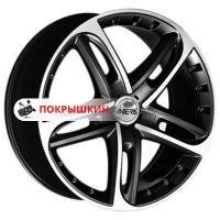8,5*19 5*114,3 ET32 75 Antera 501 Racing black front polished