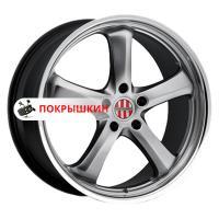 8*19 5*130 ET45 71 Victor Turismo Hyper Silver Mirror Cut Lip