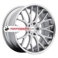 8,5*18 5*120 ET35 76 TSW Amaroo Silver Brushed Face Chrome Lip