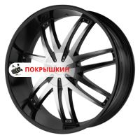 9,5*22 5*130 ET38 72,62 Helo HE868 Black/Machined