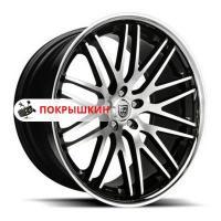 10,5*20 5*120 ET35 74,1 Lexani CVX44 Black/Machined/Chrome Lip