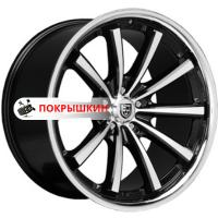10,5*20 5*120 ET35 74,1 Lexani CVX55 Flat Black/Machined/Chrome Lip