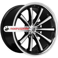 9*20 5*120 ET20 74,1 Lexani CVX55 Flat Black/Machined/Chrome Lip