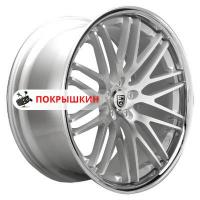 9*20 5*120 ET20 74,1 Lexani CVX44 Silver/Machined/Chrome Lip